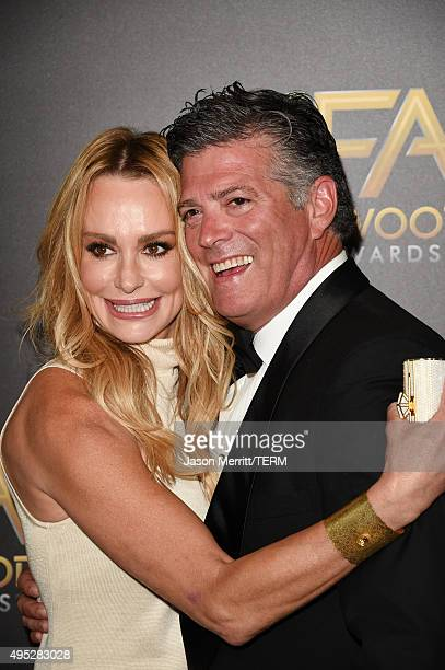 TV personality Taylor Armstrong and lawyer John H Bluher attend the 19th Annual Hollywood Film Awards at The Beverly Hilton Hotel on November 1 2015...