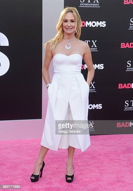 TV personality Taylor Armstrong arrives at the premiere of STX Entertainment's 'Bad Moms' at Mann Village Theatre on July 26 2016 in Westwood...