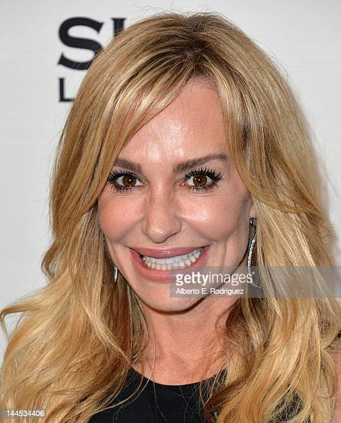TV personality Taylor Armstrong arrives to Bravo Media's celebration of the book release of Andy Cohen's 'Most Talkative Stories From The Front Lines...