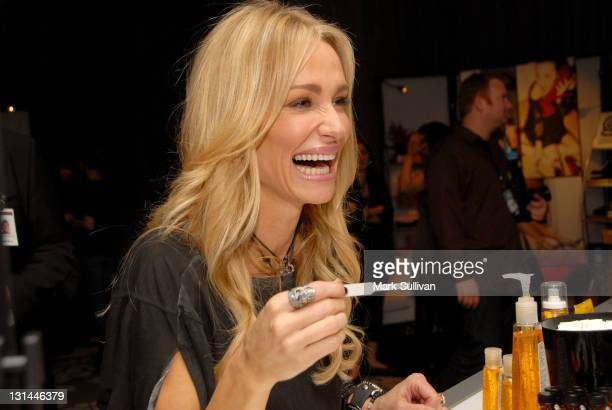TV personality Taylor Armstrong attends the CVS Pharmacy Beauty Club at the Access Hollywood Stuff You Must Lounge produced by On 3 Productions at...