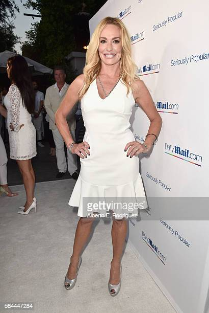 TV personality Taylor Armstrong attends the Daily Mail Summer White Party with Lisa Vanderpump at Pump on July 27 2016 in Los Angeles California
