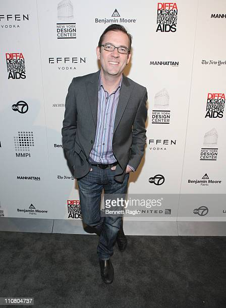 Personality Ted Allen attends the 2011 DIFFA Dining by Design New York Gala Dinner at Pier 94 on March 21, 2011 in New York City.