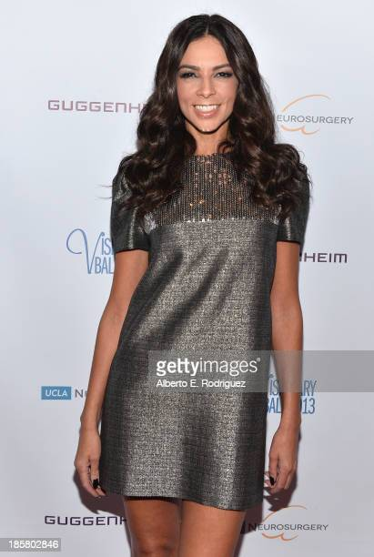 TV personality Terri Seymour arrives to the 2013 UCLA Neurosurgery Visionary Ball at the Beverly Wilshire Four Seasons Hotel on October 24 2013 in...