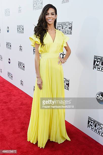 TV personality Terri Seymour attends the 2015 American Music Awards at Microsoft Theater on November 22 2015 in Los Angeles California