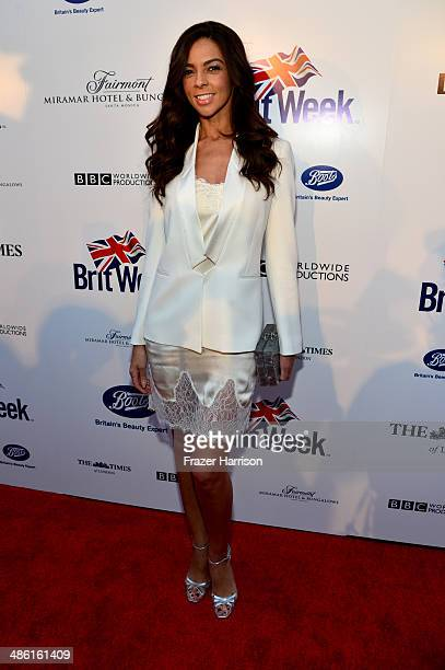TV personality Terri Seymour attends the 8th Annual BritWeek Launch Party at a private residence on April 22 2014 in Los Angeles California