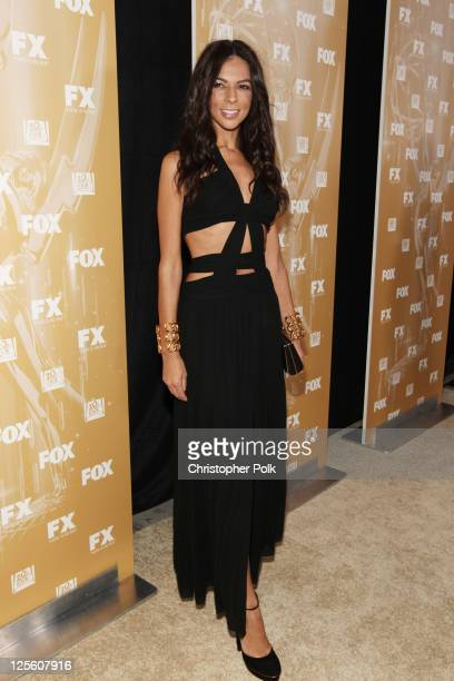TV personality Terri Seymour attends the EMMY nominees celebration with FOX Broadcasting Company Twentieth Century FOX Television and FX at Fig Olive...