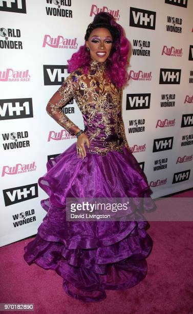 TV personality The Vixen attends VH1's RuPaul's Drag Race Season 10 Finale at The Theatre at Ace Hotel on June 8 2018 in Los Angeles California