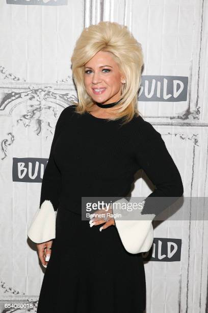 TV personality Theresa Caputo attends the Build Series at Build Studio on March 16 2017 in New York City
