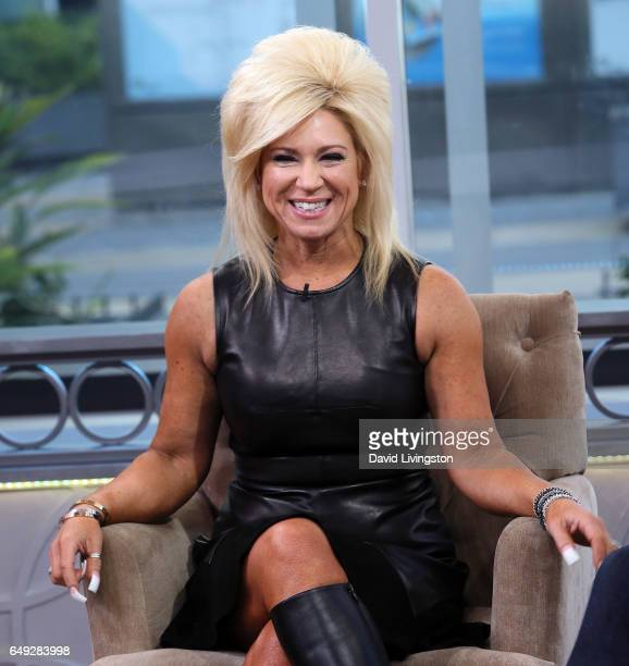TV personality Theresa Caputo visits Hollywood Today Live at W Hollywood on March 7 2017 in Hollywood California