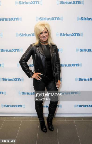 Personality Theresa Caputo visits SiriusXM Studios on February 15 2017 in New York City