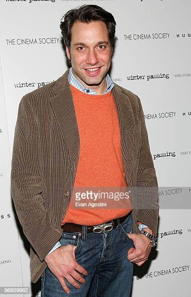 TV personality Thom Felicia attends the Cinema Society/Hugo Boss screening of Winter Passing at the Tribeca Grand February 15 2006 in New York City