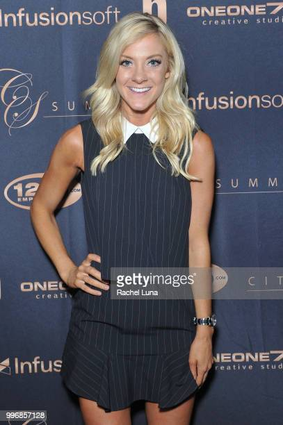 TV personality Tiege DooleyPanko attends City Summit Wealth Mastery And Mindset Edition afterparty at Allure Banquet Catering on July 11 2018 in Van...