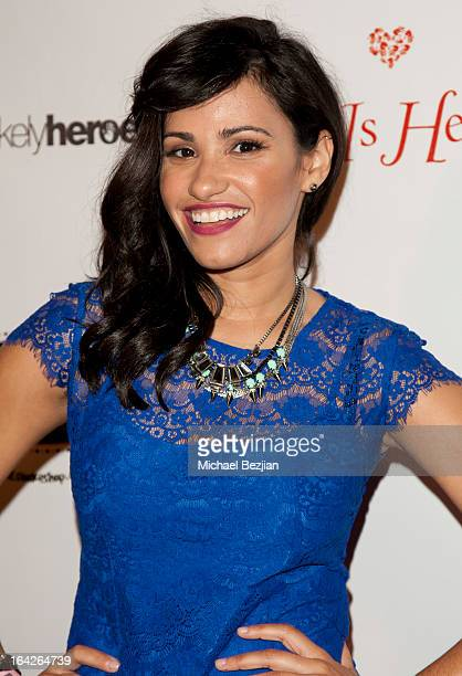 TV personality Tiffany Smith attends Love Is Heroic The Unlikely Heroes Annual Spring Benefit at W Hollywood on March 21 2013 in Hollywood California