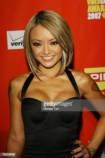 Personality Tila Tequila arrives at Spike TV's 5th Annual Video Game Awards held at Mandalay Bay Events Center on December 7 2007 in Las Vegas Nevada