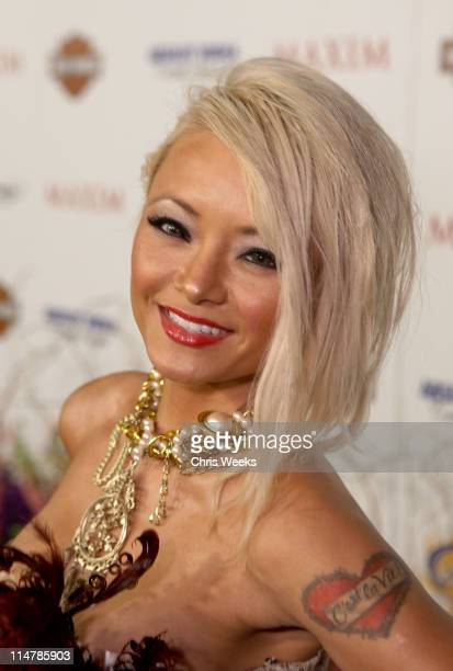 TV Personality Tila Tequila arrives at the 11th annual Maxim Hot 100 Party with HarleyDavidson ABSOLUT VODKA Ed Hardy Fragrances and ROGAINE held at...