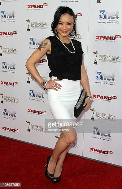 TV personality Tila Tequila arrives at the International 3D Society 2nd Annual 3D Creative Arts Awards on February 9 2011 in Hollywood California