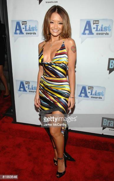 TV personality Tila Tequila attends Bravo's 1st AList Awards at the Hammerstein Ballroom on June 4 2008 in New York City