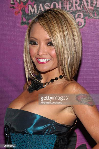 TV personality Tila Tequila attends the 2008 Tila Tequila's MTV New Year's Eve Masquerade party at MTV Times Square studio on December 31 2007 in New...