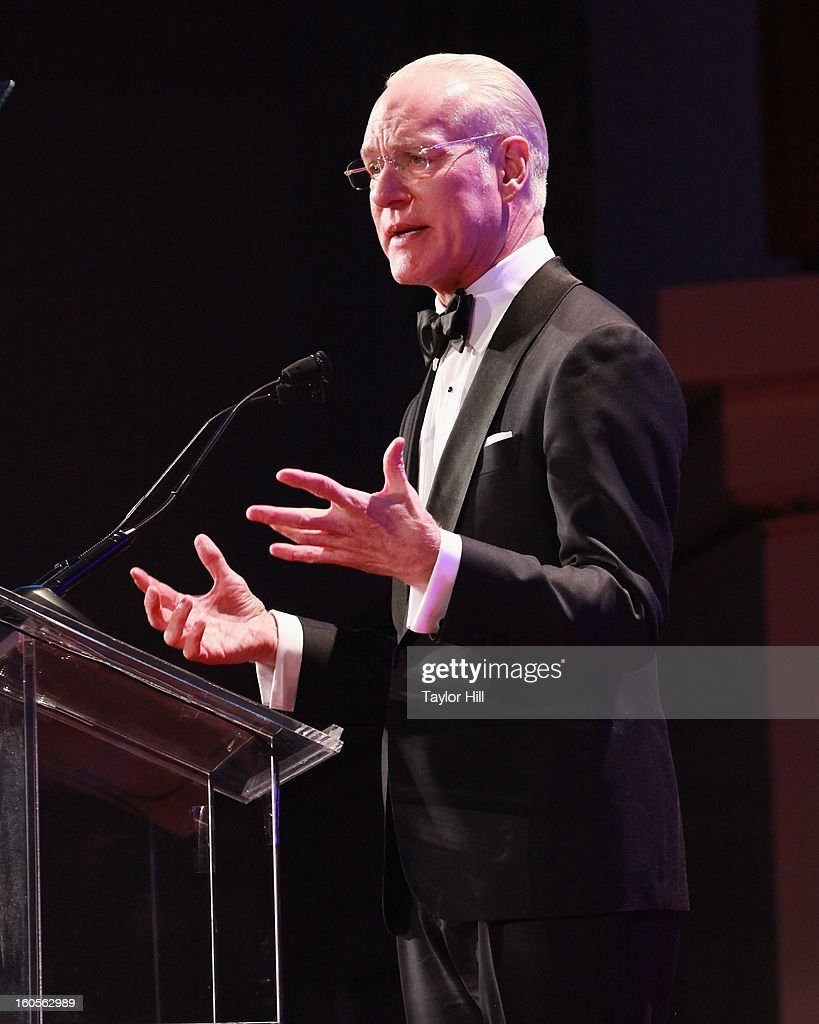 TV personality Tim Gunn attends The 2013 Greater New York Human Rights Campaign Gala at The Waldorf=Astoria on February 2, 2013 in New York City.