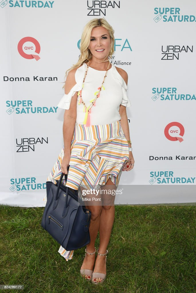 TV personality Tinsley Mortimer attends OCRFA's 20th Annual Super Saturday to Benefit Ovarian Cancer on July 29, 2017 in Watermill, New York.