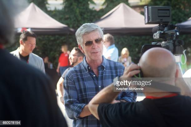 TV personality Tom Bergeron attends the 27th Annual Pricelinecom Hollywood Charity Horse Show at Los Angeles Equestrian Center on June 3 2017 in...