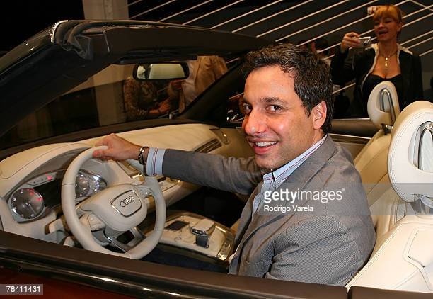 Personality Tom Filicia at The Audi Wire Frame Exhibit At Design Miami on December 6 2007