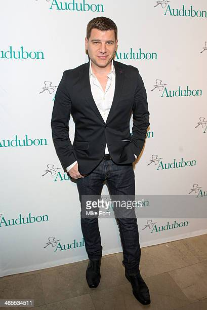 Personality Tom Murro attends the 2013 National Audubon Society's Gala at The Plaza Hotel on January 27 2014 in New York City