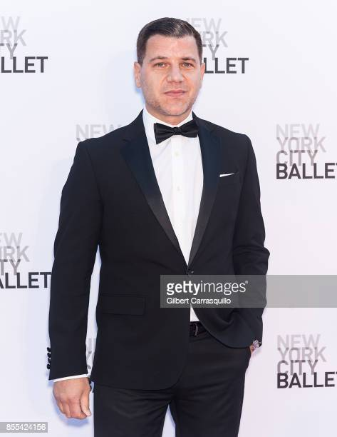 TV personality Tom Murro attends the New York City Ballet's 2017 Fall Fashion Gala at David H Koch Theater at Lincoln Center on September 28 2017 in...