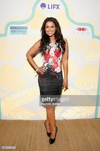 TV personality Tracey Edmonds attends Kari Feinstein's Style Lounge presented by LIFX on February 26 2016 in Los Angeles California