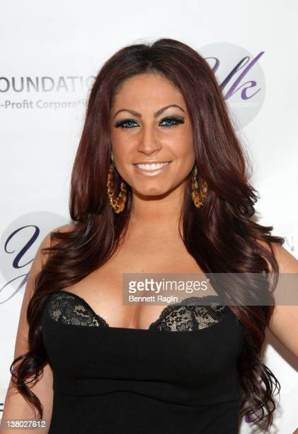 TV personality Tracy DiMarco attends the 2012 YK Foundation Event at the Westmount Country Club on January 31 2012 in West Paterson New Jersey