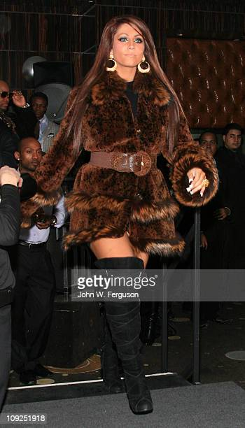 TV personality Tracy DiMarco attends the Alisa Maria Furs Fall 2011 fashion show during MercedesBenz Fashion Week at The Empire Room on February 17...