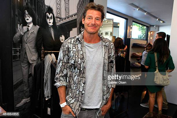 TV personality Ty Pennington attends the John Varvatos 11th Annual Stuart House Benefit at John Varvatos Boutique on April 13 2014 in West Hollywood...