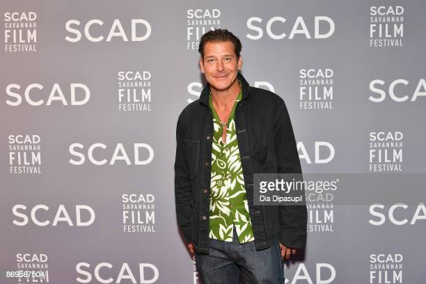 TV personality Ty Pennington attends 'The Shape Of Water' screening at Trustees Theater during 20th Anniversary SCAD Savannah Film Festival on...