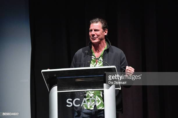 TV personality Ty Pennington onstage at Vanguard Award ceremony at Trustees Theater during 20th Anniversary SCAD Savannah Film Festival on November 2...