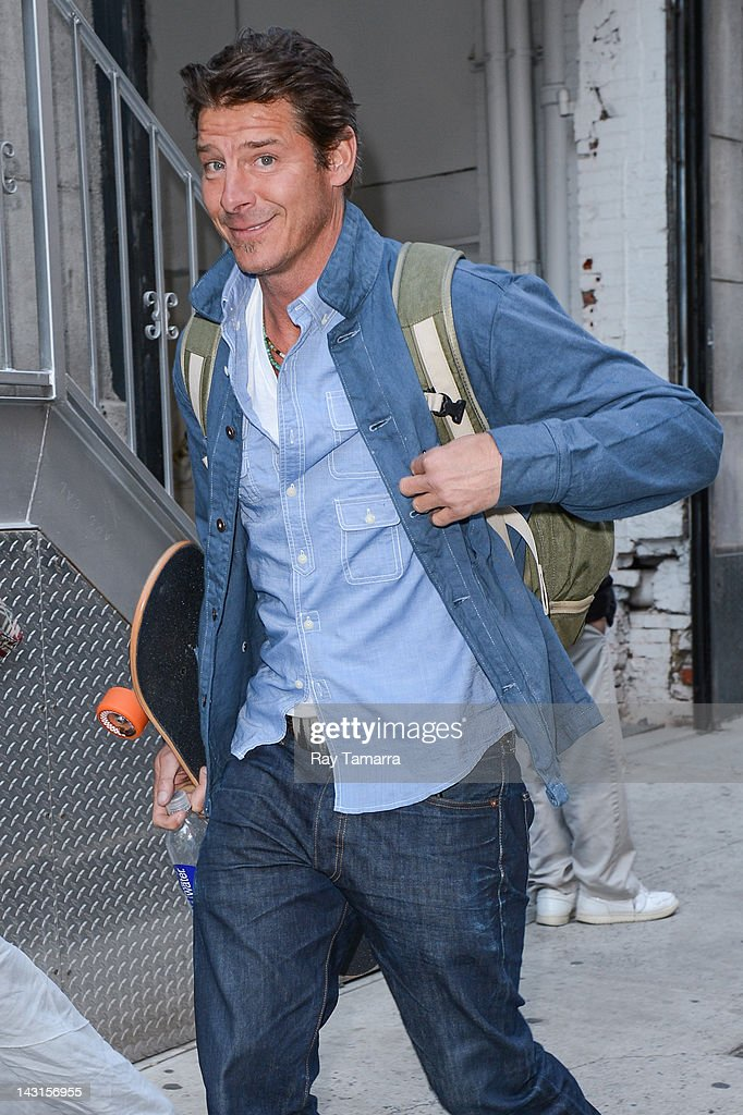 Celebrity Sightings In New York City - April 19, 2012 : News Photo