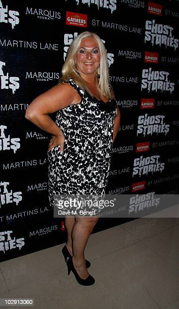 TV personality Vanessa Feltz attends the Ghost Stories Press Night Party held on July 14 2010 at the St Martins Lane Hotel in London England