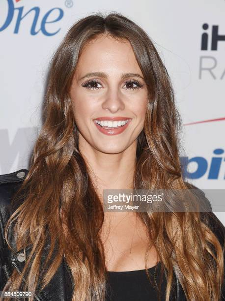 TV personality Vanessa Grimaldi arrives at 1027 KIIS FM's Jingle Ball 2017 at The Forum on December 1 2017 in Inglewood California