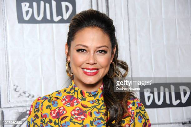 TV personality Vanessa Lachey visits Build Series to discuss TV series 'Top Chef Junior' at Build Studio on September 6 2018 in New York City
