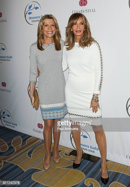 Personality Vanna White and Actress Jaclyn Smith attend the 2016 Women's Guild Annual Spring Luncheon at the Beverly Wilshire Four Seasons Hotel on...