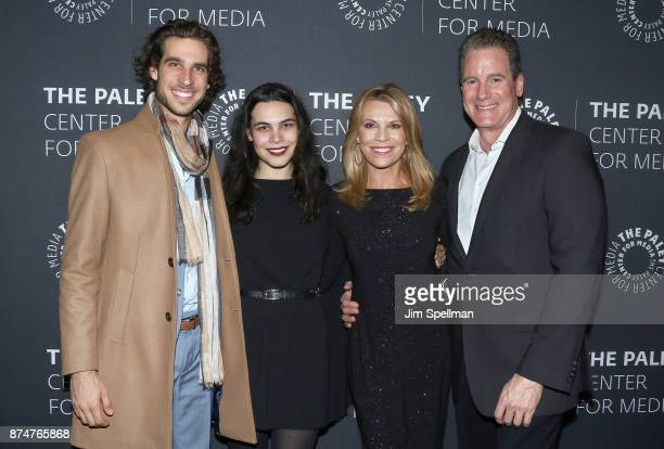 TV personality Vanna White and family attend The Wheel of Fortune 35 Years as America's Game hosted by The Paley Center For Media at The Paley Center...