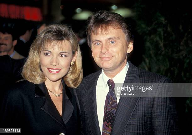 Personality Vanna White and Game Show Host Pat Sajak attending 'National Association of Program Television Executives Convention' on January 27 1993...