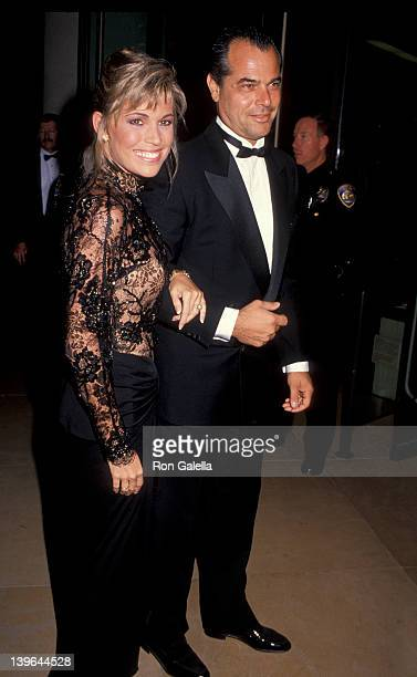 Personality Vanna White and husband George Santopietro attending 'Carousel of Hope Ball Benefit' on October 26 1990 at the Beverly Hilton Hotel in...