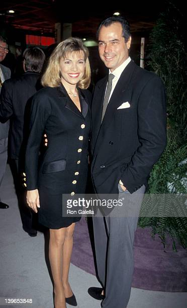 """Personality Vanna White and husband George Santopietro attending """"National Association of Program Television Executives Convention"""" on January 27,..."""
