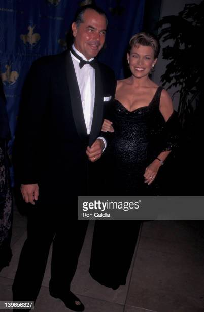Personality Vanna White and husband George Santopietro attending 'Carousel of Hope Ball Benefit' on October 25 1996 at the Beverly Hilton Hotel in...