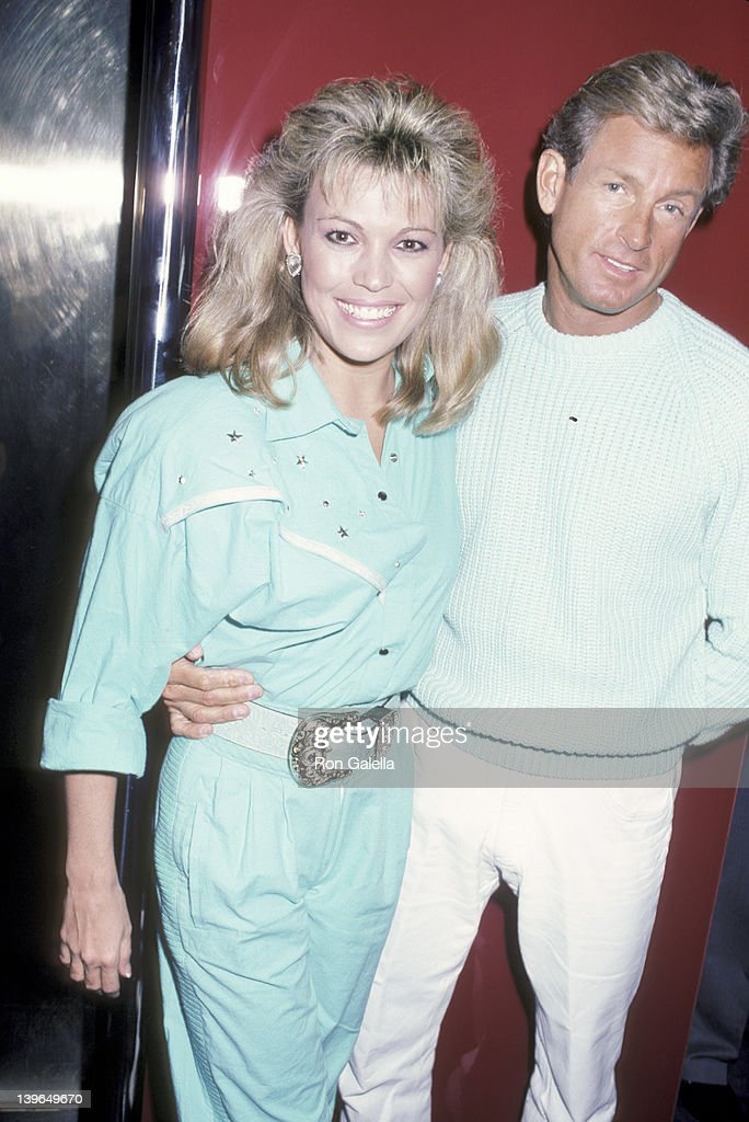 TV Personality Vanna White and husband John Gibson being ...