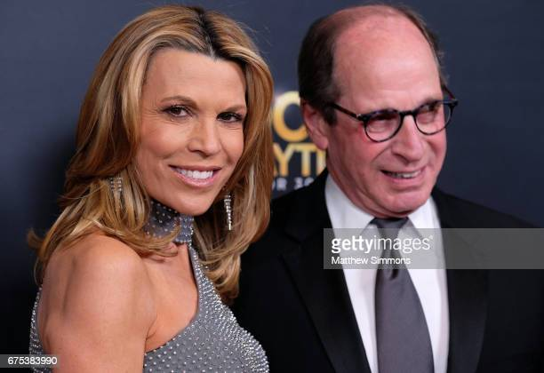 Personality Vanna White and producer Harry Friedman attend the CBS Daytime Emmy after party at Pasadena Civic Auditorium on April 30, 2017 in...
