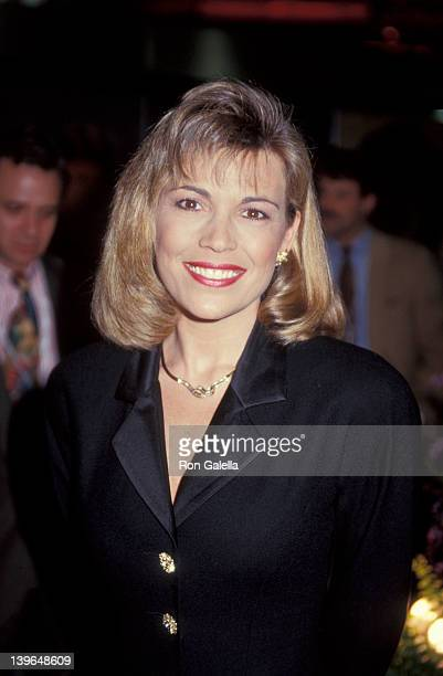 """Personality Vanna White attending """"National Association of Program Television Executives Convention"""" on January 27, 1993 at Moscone Convention Center..."""