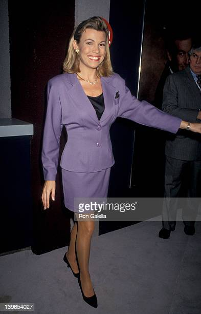Personality Vanna White attending 'National Association of Program Television Executives Convention' on January 27 1993 at Moscone Convention Center...