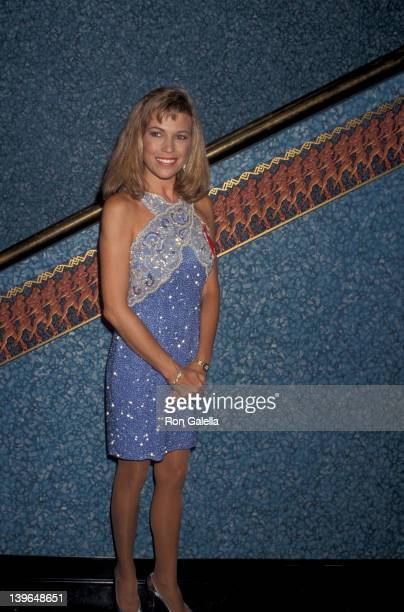 Personality Vanna White attending Second Annual Jim Thorpe Pro Sports Awards on July 12 1993 at the Wiltern Theater in Los Angeles California