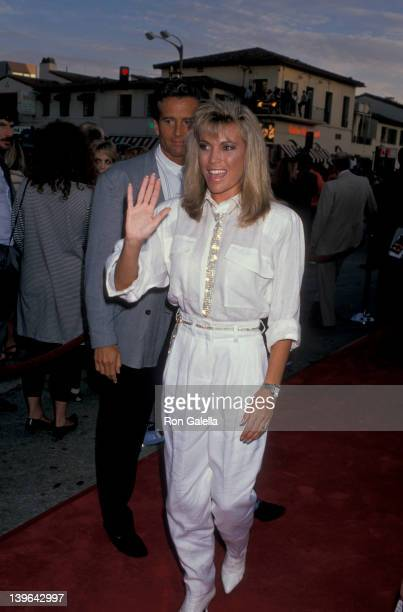 Personality Vanna White attending the premiere of 'Batman' on June 19 1989 at Mann Bruin Theater in Westwood California